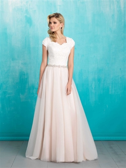 Modest Bridal Gown: Olivia