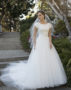 Modest Bridal Gown: Avery