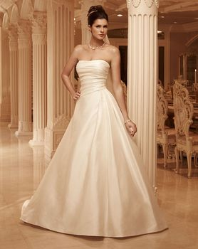 Bridal Gown: Berry