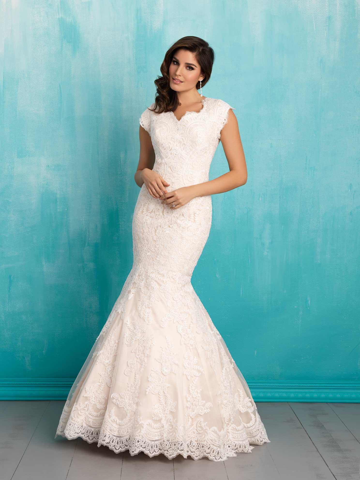 Modest Bridal Gown: Eva | Ann\'s Classic Affairs