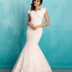 Modest Bridal Gown: Eva