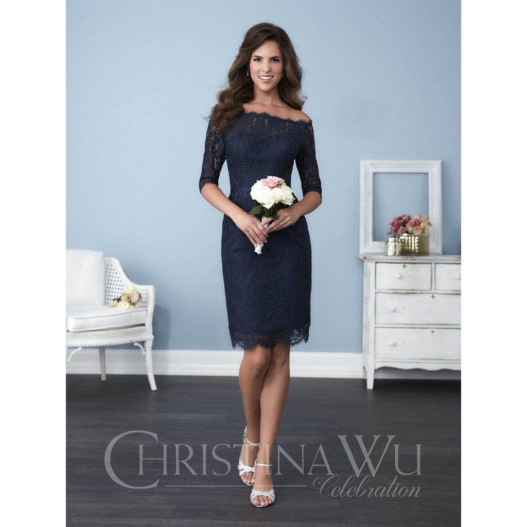 Bridesmaid Navy Actual large