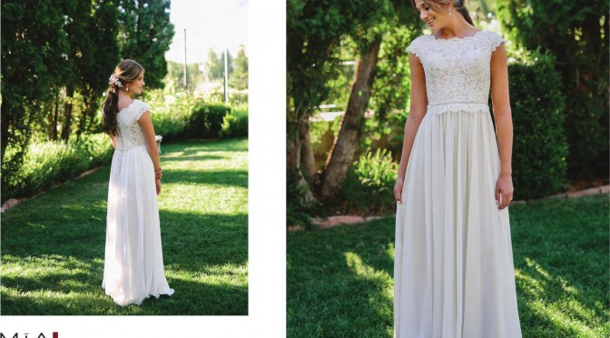 Modest Bridal Gown: Addelynn