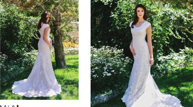 Modest Bridal Gown: Barb