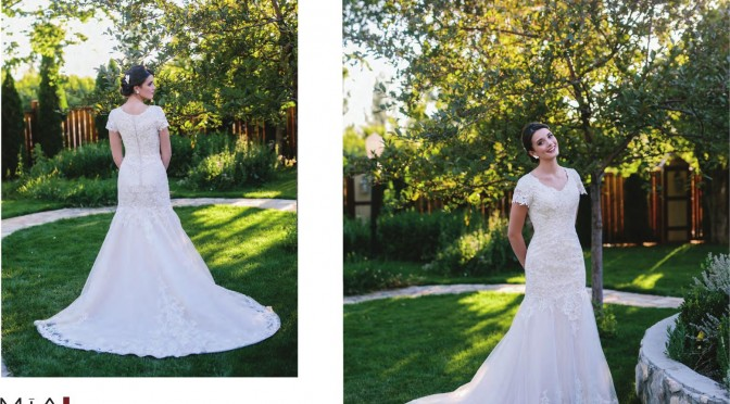 Modest Bridal Gown: Isabella