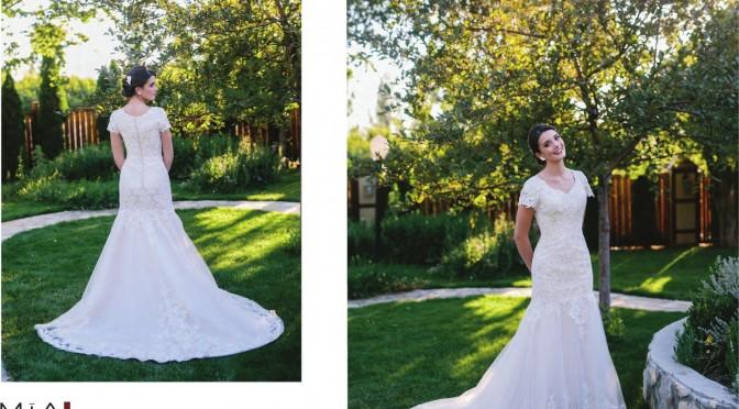 Modest Bridal Gown: Isabella