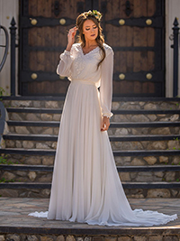 Modest Bridal Gown: Hailey