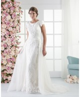 Modest Bridal Gown: Finley