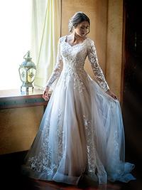 Modest Bridal Gown: Haddie