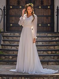 Modest Bridal Gown: Hailey