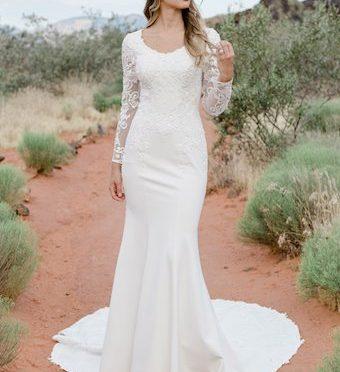 Modest Bridal Gown: Cumorah
